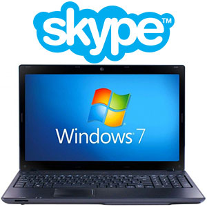 Как установить Skype  на ноутбук Windows 7